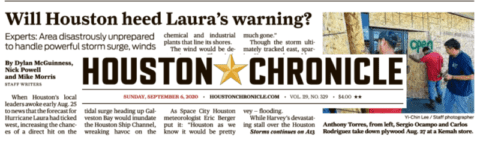 Post-Laura 'Houston Chronicle' quotes RAF Founder